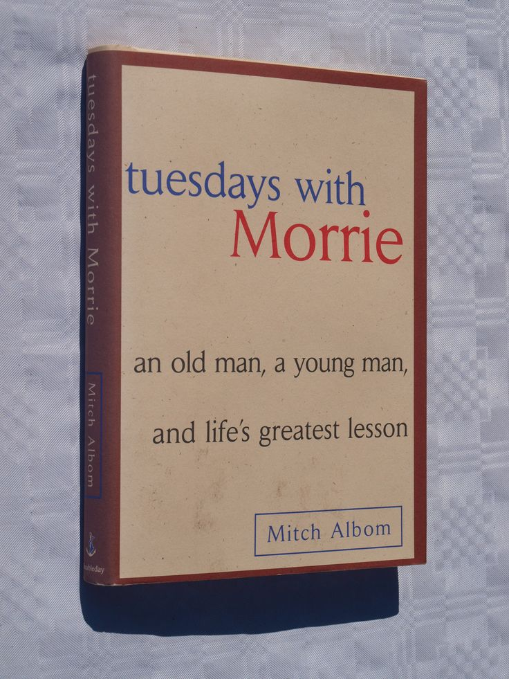 a look at the close relationship of mitch albom and morrie schwartz in tuesdays with morrie by mitch Cet article :tuesdays with morrie par mitch albom broché eur 7,22  afterward,  i find morrie schwartz, my favorite professor, and introduce him to my parents   looking back, morrie knew something bad was coming long before that  he  would close his eyes and with a blissful smile begin to move to his own sense of .