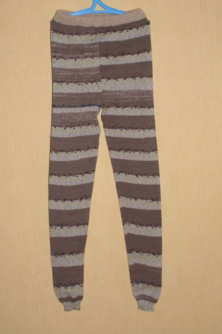 baby pants, striped knitted