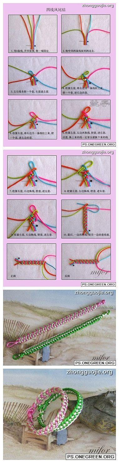 DIY Dazzling Knot Bracelet DIY Dazzling Knot Bracelet by diyforever