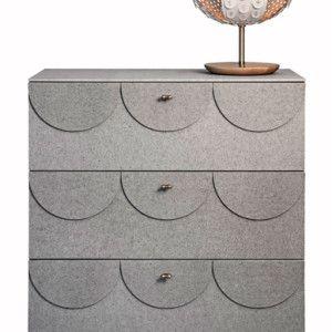 Byrå Glimmer av Ania Pauser för Klong Material: Cembri (cement, cellulosa och glimmer)