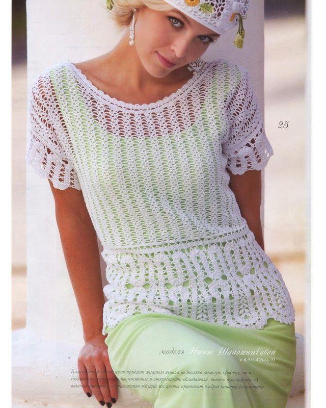 Zhurnal MOD 556   Irish crochet &