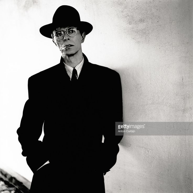 Musician David Bowie is photographed for Max Magazine on March 1, 1993 in London, England.