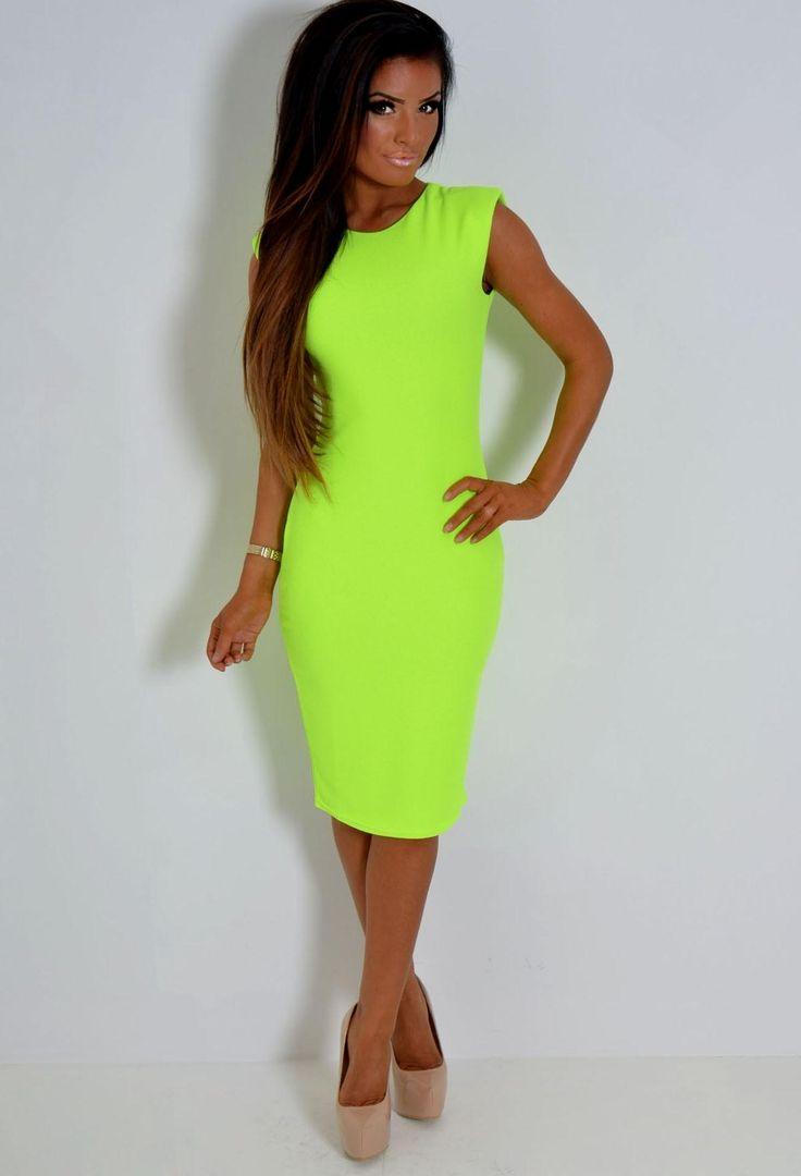 25+ best ideas about Neon Green Dresses on Pinterest ...