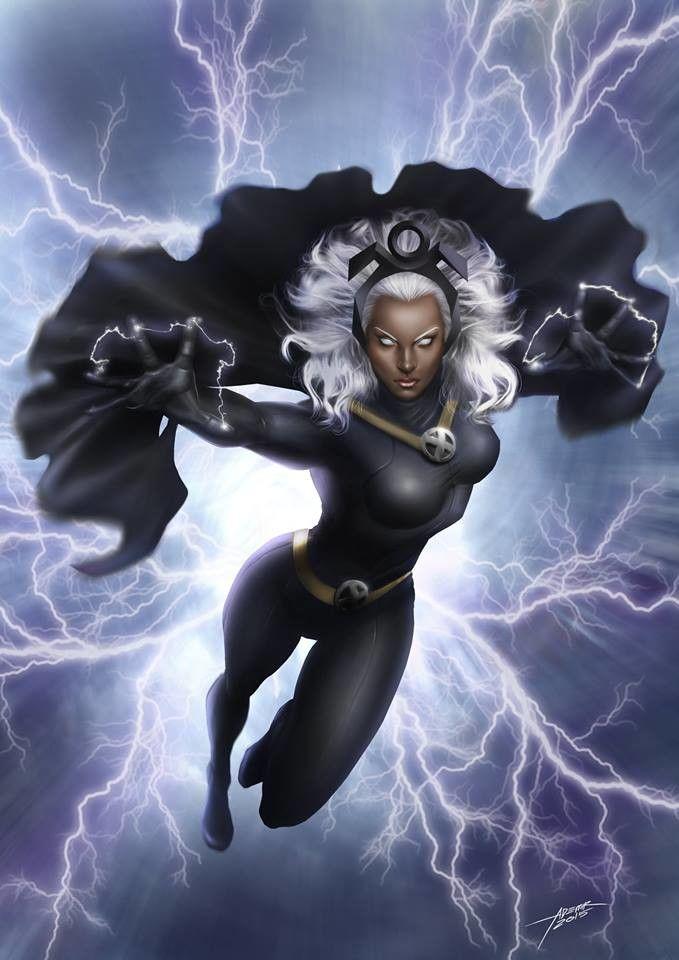 Marvel Storm Drawing