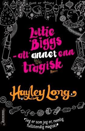 """Dette er den tredje boken om livlige og fantasifulle Lottie Biggs etter """"Har det klikka for Lottie Biggs"""" og """"Lottie Biggs er ikke desperat""""."""
