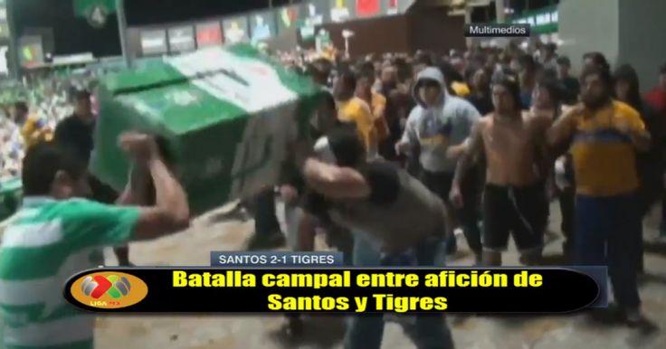 Durante el partido entre el Santos Laguna y los Tigres de la Universidad de Nuevo León, en el torneo de Clausura 2016 del pasado sábado 23 de abril en el fútbol mexicano, se suscito una riña entre pseudoaficionados de la barra de Tigres (Libres y Lolkos) y aficionados del Santos al interior y al exterior del estadio Corona, luego de que el Tigres perdiera de visita por un marcador de 2-1 y esto causara el disgusto de sus aficionados.