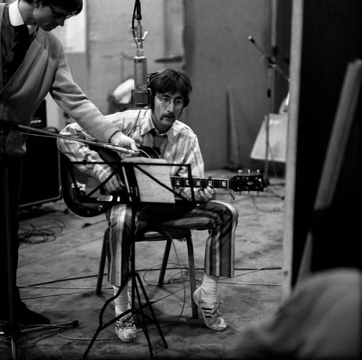 Image result for the beatles sgt. pepper's lonely hearts club band recording