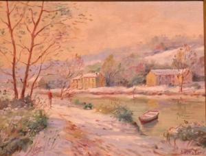 Jean Francois Bourgeat - Neige A Moret