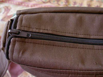 Here's a messenger bag pattern with a zipper.