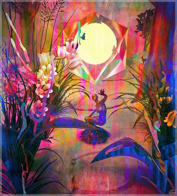Unity Invisible par Archan Nair, Art Print - Archan Nair, Threyda