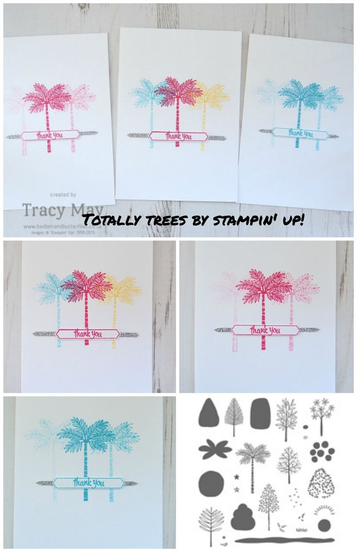 Totally Trees by Stampin' Up! Tracy May