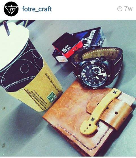 Leather Wallet - Vintage