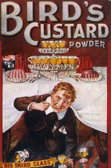Bird's Custard Advert from 1901