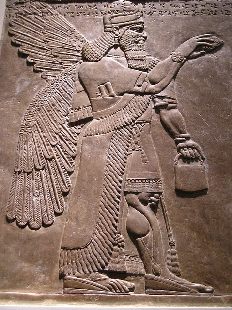 The Assyrian Gallery at the British Museum