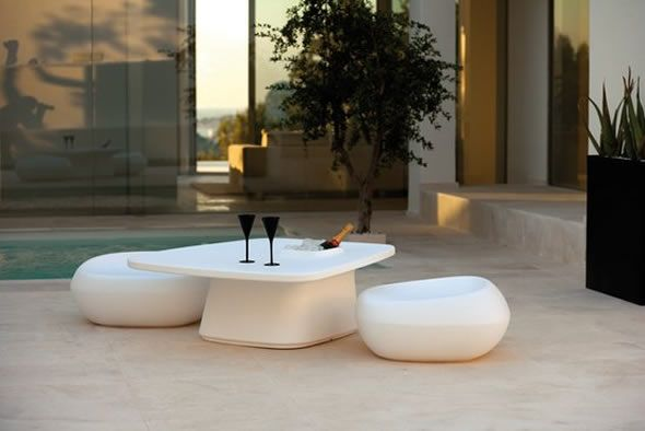 contemporary outdoor furniture | Modern and Multifunction Outdoor Furniture Design, Moma Collection by ...