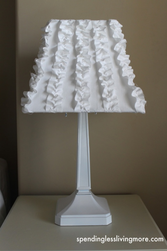 DIY Ruffle Lamps: Lampshades Tutorials, Redecor Lampshades, Diy Ruffle, Ruffles Lampshades