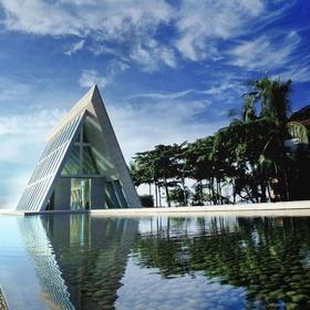 The chapel in Conrad, Bali
