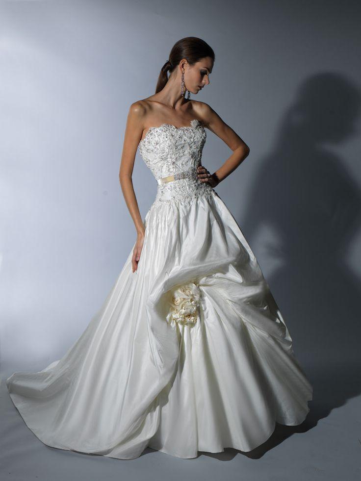 Glamorous Victor Harper Wedding Dresses. To see more: http://www.modwedding.com/2014/01/13/glamorous-victor-harper-wedding-dresses/ #wedding #weddings #fashion