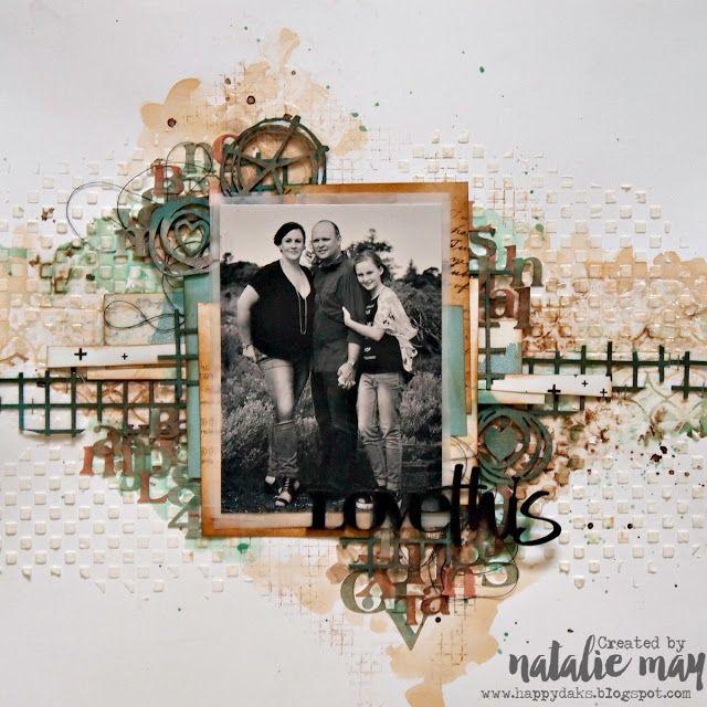 Happy Daks! Natalie May. Imaginarium Designs & Lindys Stamp Gang