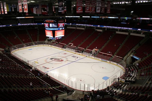 PNC Arena. Home of the Carolina Hurricanes