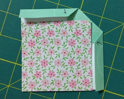 Fold binding in half. This page has a link to help me remember how to finish off quilts.