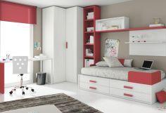 Dormitorio infantil juvenil moderno, 43-30