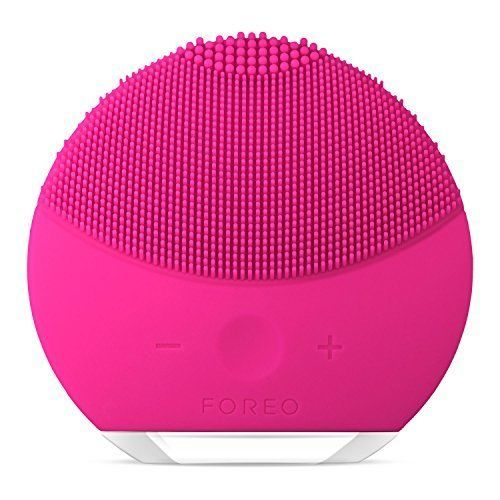 FOREO LUNA mini 2 Facial Cleansing Brush, Gentle Exfoliation and Sonic Cleansing #FOREO