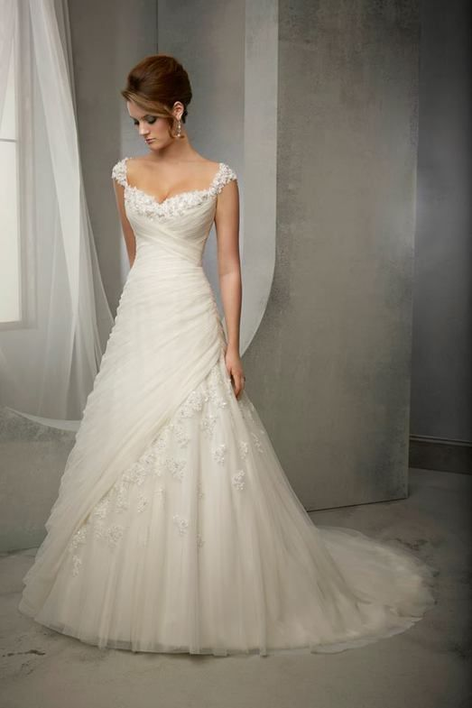 Sexy white/ivory Vestido De Novia Vestido De Novia Personalizadas Talla 2 4 6 8 10 12 14 16 18 20