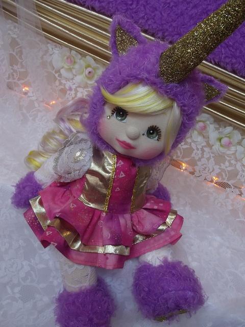 OOAK Mattel My Child Doll ~ Unicorn Fairy by jesska80, via Flickr