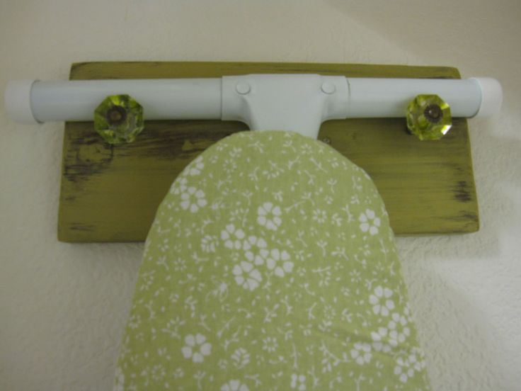 The Decorating Duchess: A Quick Laundry Room Project (Hanger for Ironing Board)