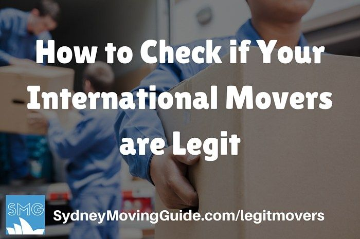 How to Check if Your International Relocation Company is Legit