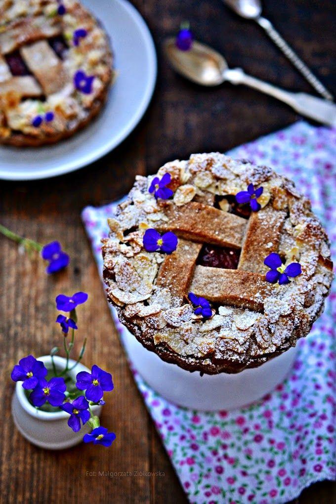 Smaki Alzacji : Tartaletka z rabarbarem
