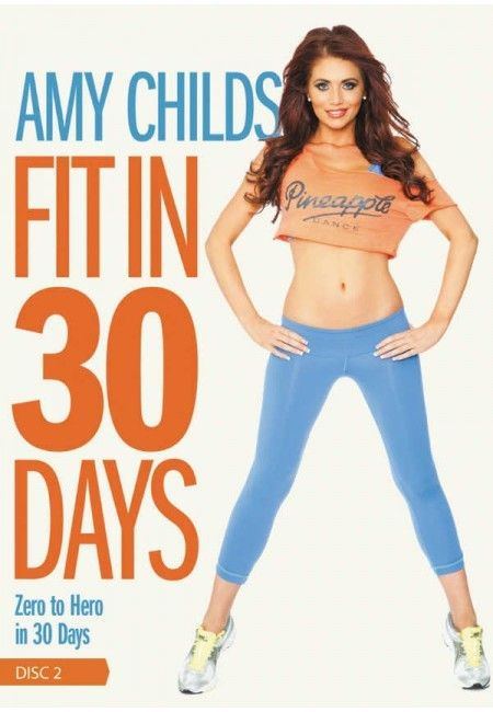 Amy Childs 'Fit In 30 Days' 2013