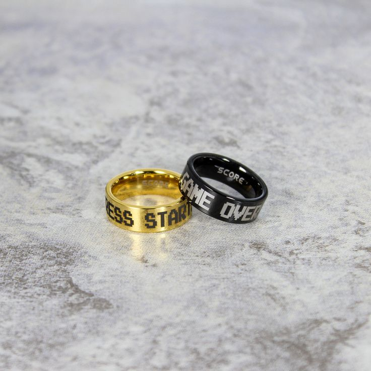 wedding nerd gamer decor ideas nerdy rings
