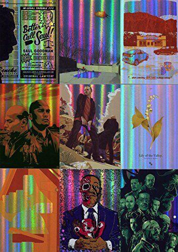 BREAKING BAD SEASONS 1 TO 5 FAN ART INSERT CARD SET BBFA-01 TO BBFA-09 @ niftywarehouse.com #NiftyWarehouse #BreakingBad #AMC #Show #TV #Shows #Gifts #Merchandise #WalterWhite