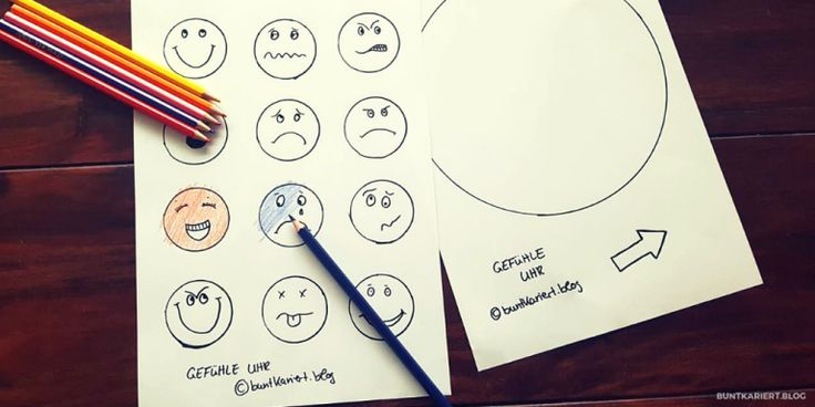 Gefühle Uhr basteln free Download   Preschool, Notebook