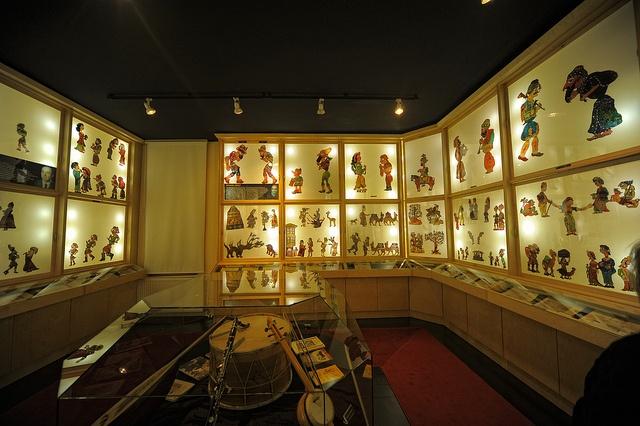 Karagoz and Hacivat, Shadow puppet theatre museum, Bursa, Turkey
