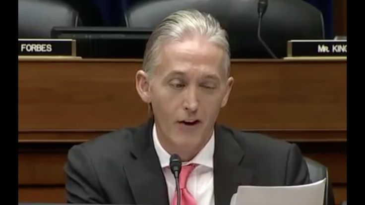 Trey Gowdy Goes Cross Eyed Over James Comey Stupidity!