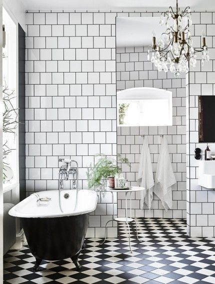 Renovera om badrummet? Se hit för inspiration! | ELLE Decoration
