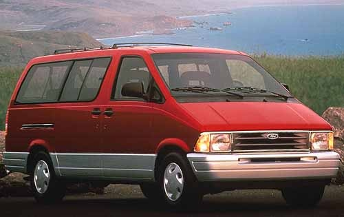 1991 Ford Aerostar. OMG I hated this vehicle. My most hated vehicle of all time. :/ Nothing but bad memories.