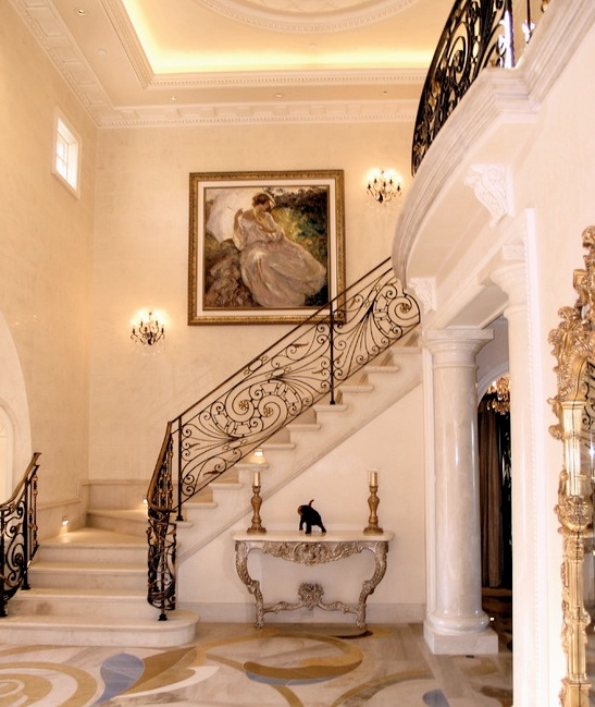 Elegant Marble Foyers : Best images about marble stairs on pinterest mansions