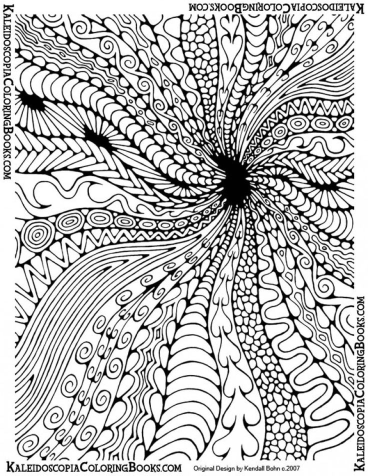Best 25+ Abstract coloring pages ideas on Pinterest | Adult ...