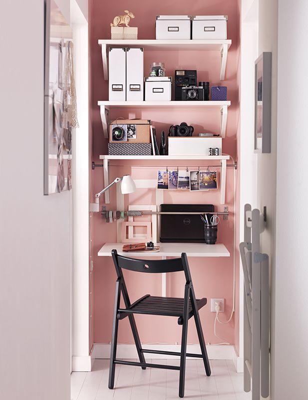Wandklapptisch design  84 best Bureaux images on Pinterest | Organization, Chairs and ...