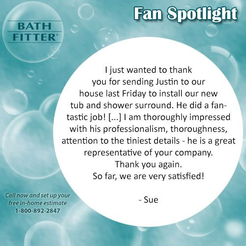 67 Best Images About Bath Fitter Customers 39 Review On Pinterest