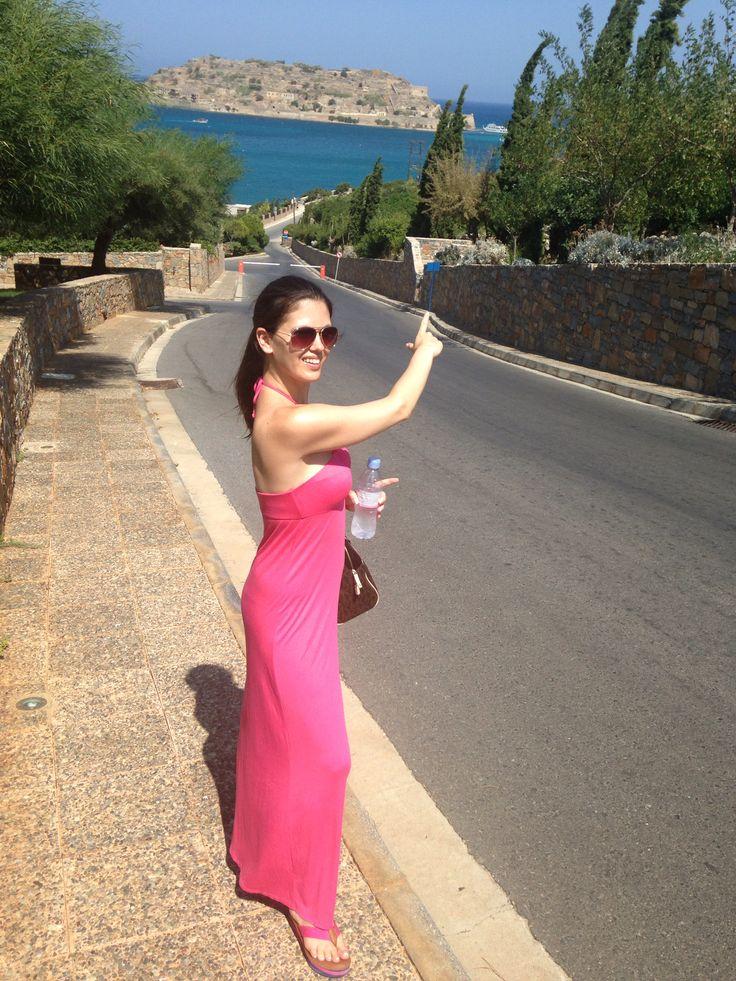 A walk in Blue Palace, Creta