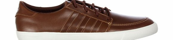 Adidas Court Deck Vulc Lo Brown Leather Trainers Adidas Court Deck Vulc Lo Brown Leather Trainers Colourway
