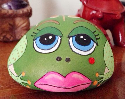 ~Frog Stone/Rock Art~