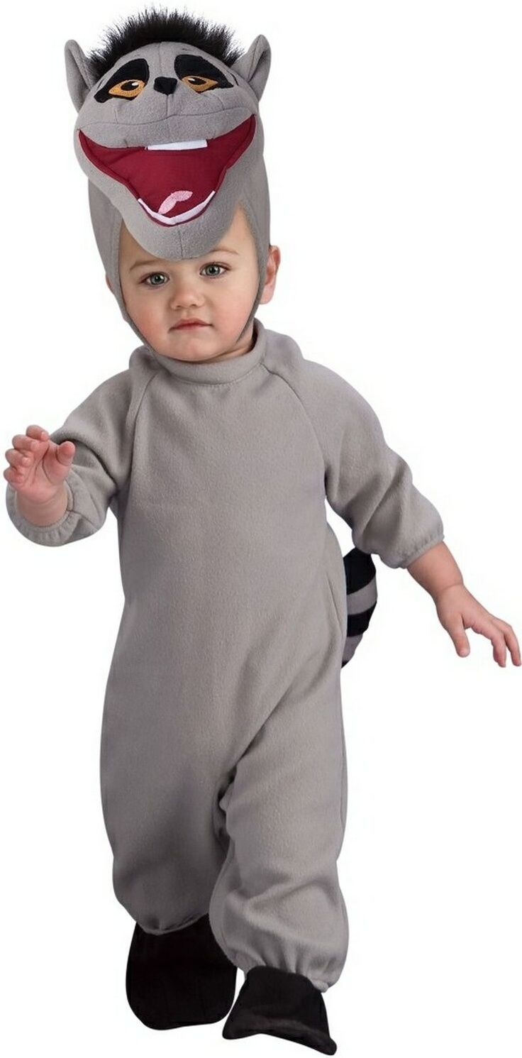king juilen of madagascar penguin costume for babies - Infant Penguin Halloween Costume