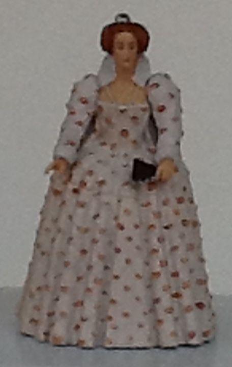QUEEN ELIZABETH I / RAINHA ELIZABETE I -Figurine By Papo