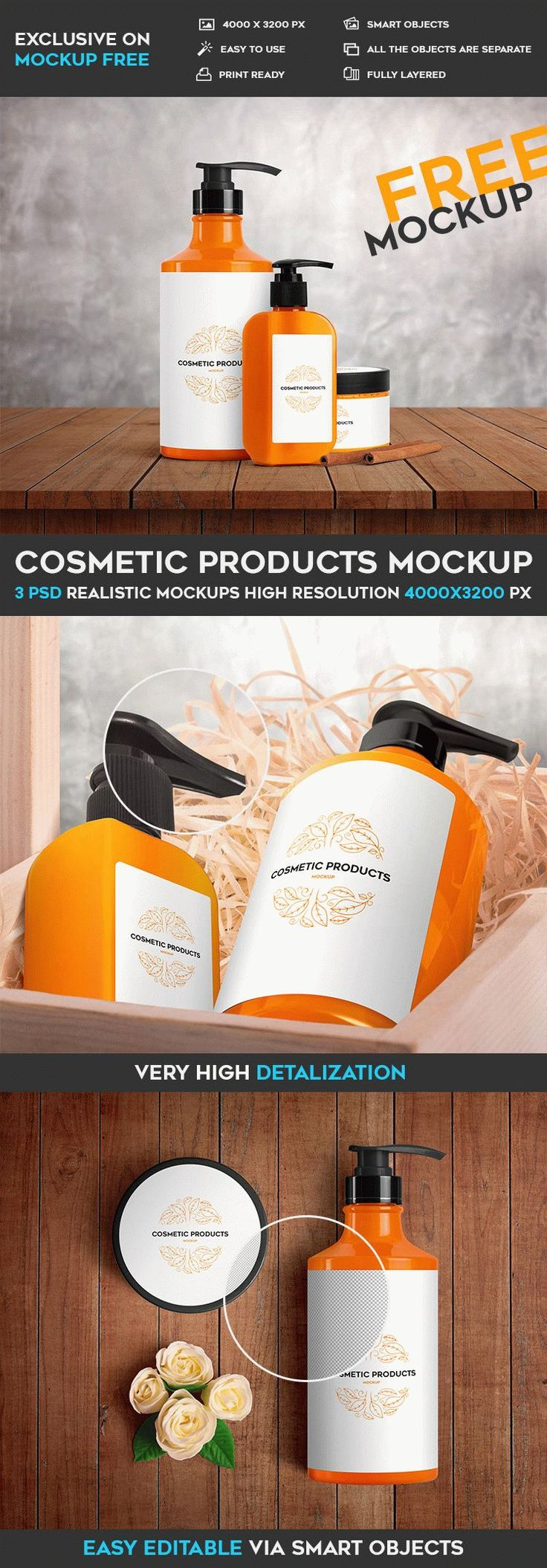 Cosmetic Products Free Psd Mockup Mockupfree Co Mockup Free Psd Mockup Psd Design Mockup Free